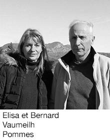 Elisa et Bernard Vaumeilh Pommes, arboriculteurs Fruits&Compagnie