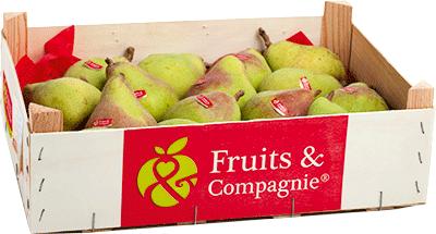 Plateau poires comice héritage de nos terroirs Fruit&compagnie