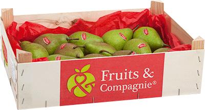 Plateau poires louise bonne héritage de nos terroirs Fruit&compagnie