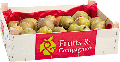 Plateau poires martin sec héritage de nos terroirs Fruit&compagnie