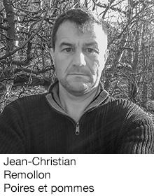 Jean-Christian Remollo Poires et pommes, arboriculteur Fruits&Compagnie
