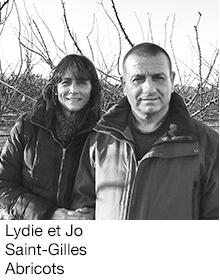 Lydie et Jo Saint-Gilles Abricots, arboriculteurs Fruits&Compagnie