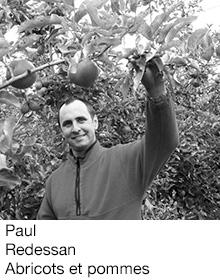 Paul Redessan Abricots et pommes, arboriculteur Fruits&Compagnie
