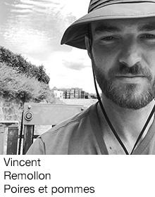 Vincent Remollon Poires et pommes, arboriculteur Fruits&Compagnie