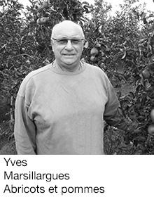Yves Marsillargues Abricots et pommes, arboriculteur Fruits&Compagnie