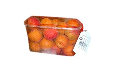 barquette 1kg abricots - gamme solutions consommateurs Fruit&compagnie