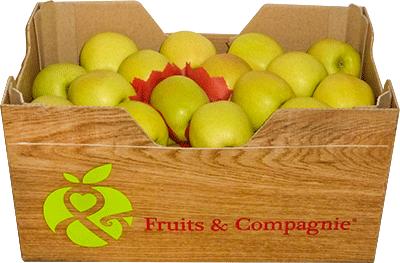 caisse carton pommes golden Fruit&compagnie