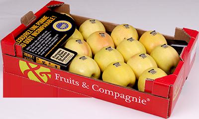 Plateau IGP pommes Fruits&Compagnie
