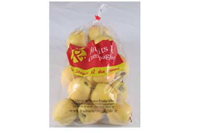 sachet 2kg pommes - gamme solutions consommateurs Fruit&compagnie