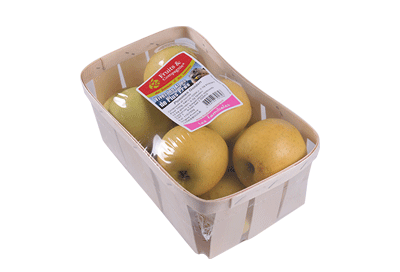 barquette 1,5kg pommes - gamme solutions consommateurs Fruit&compagnie
