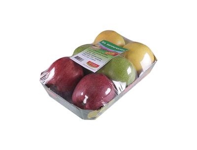 barquette 6 pommes variées - gamme solutions consommateurs Fruit&compagnie