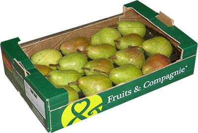 plateau familial poires - gamme solutions consommateurs Fruit&compagnie