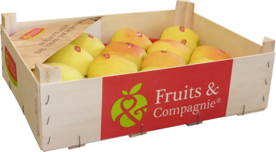 plateau pommes golden des alpes héritage de nos terroirs Fruit&compagnie