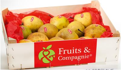 Plateau poires passe crassane héritage de nos terroirs Fruit&compagnie
