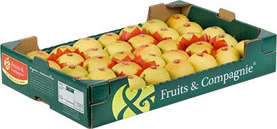 Plateau tradition pomme golden des alpes Fruit&compagnie
