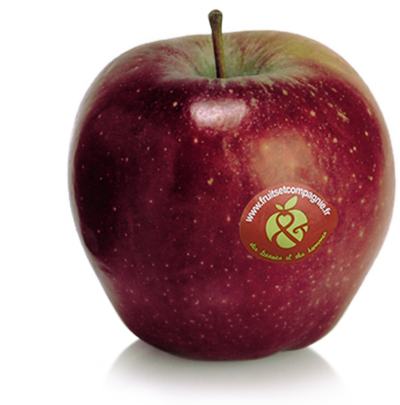 Pomme Red delicious - pommes Fruit &compagnie