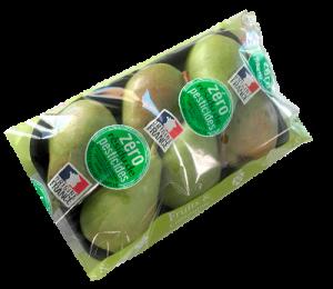 barquette 750 g Poire Louise Bonne - gamme zero résidu de pesticide Fruit&compagnie