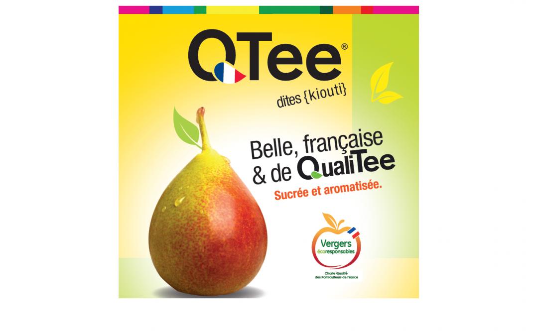 Qtee®, la nouvelle poire colorée de la rentrée