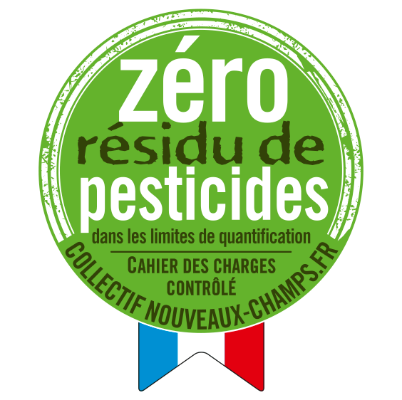 logo zéro résidus de pesticides Fruits & Compagnie